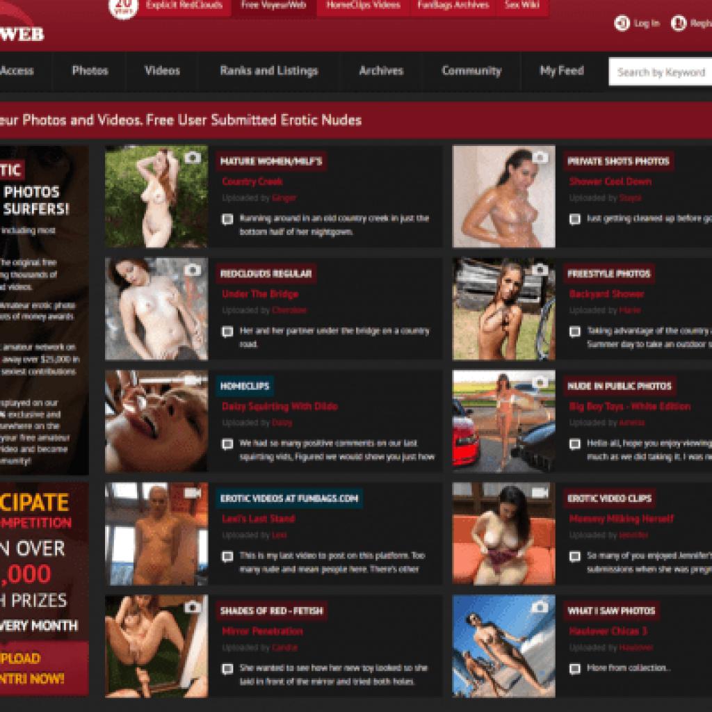 Voyeurweb - Best Amateur Porn Sites